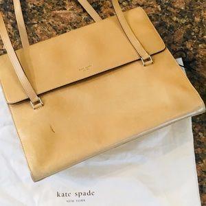 Kate Spade Vintage Leather Flap Shoulder Bag